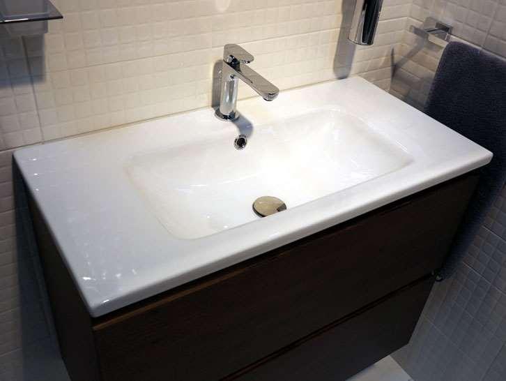 Ubrugte Håndvaske til nedfældning i Rødovre nær København FC-99